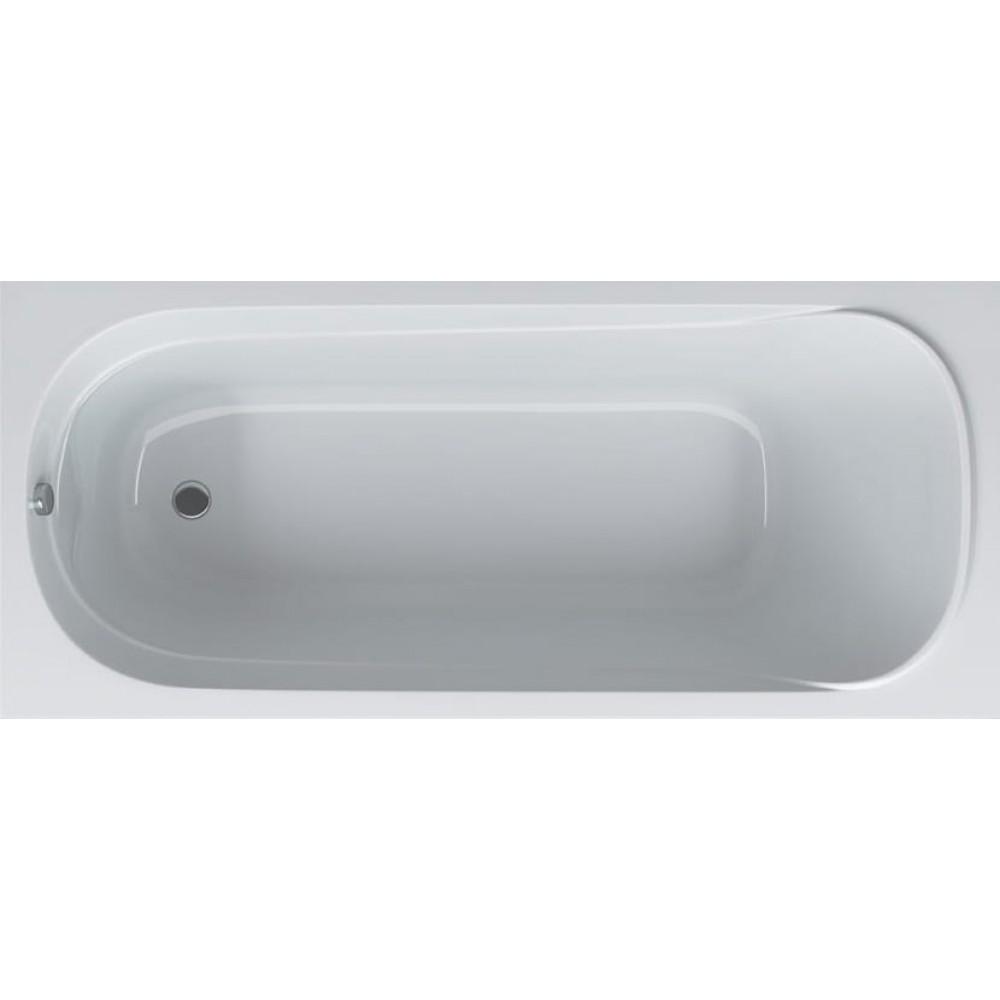 Акриловая ванна Акватек Оберон 160x70x43 см