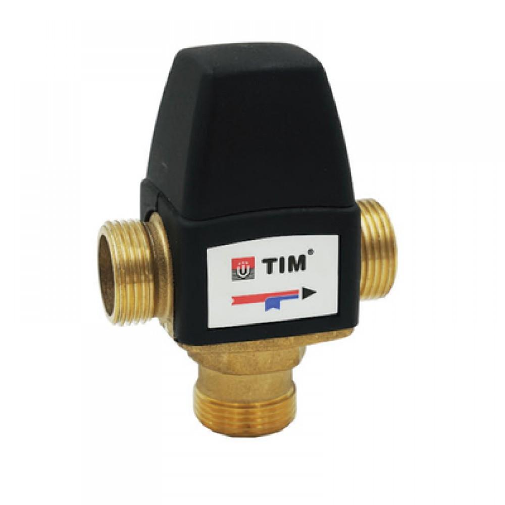 """Универсальный термостатический клапан 1"""" (3 наружных резьбы) BL3110C04"""