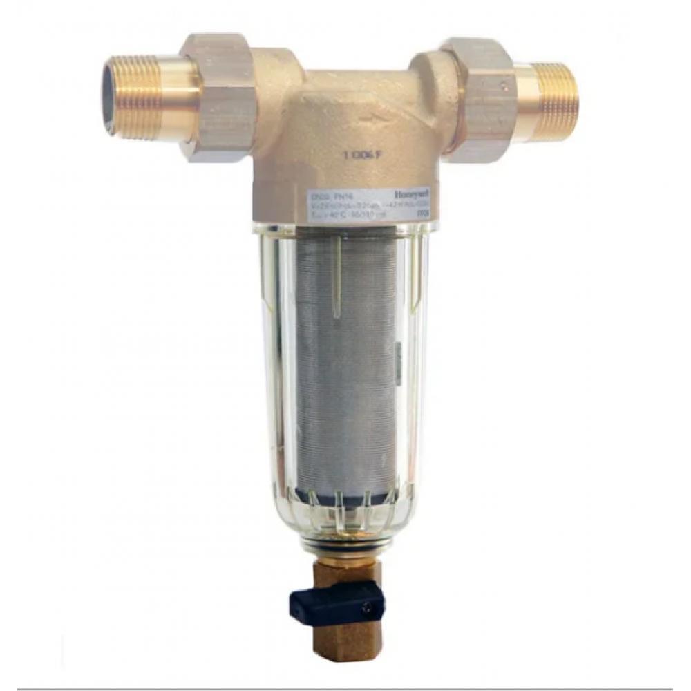 """Фильтр промывной 1/2"""" без манометра, стеклянный корпус JH-1004Y2"""
