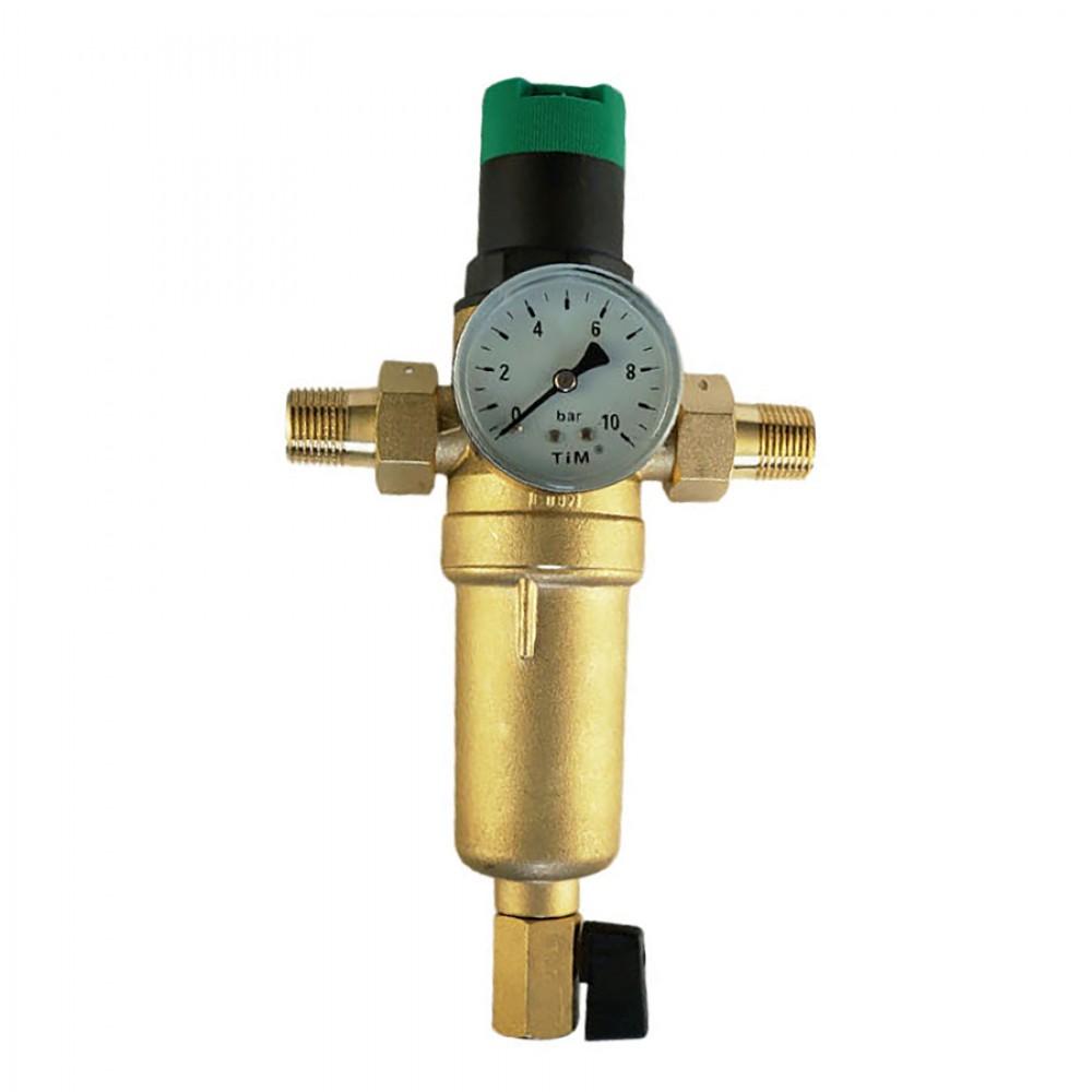 Фильтр промывной с редуктором снижения давления JH-1007Y2