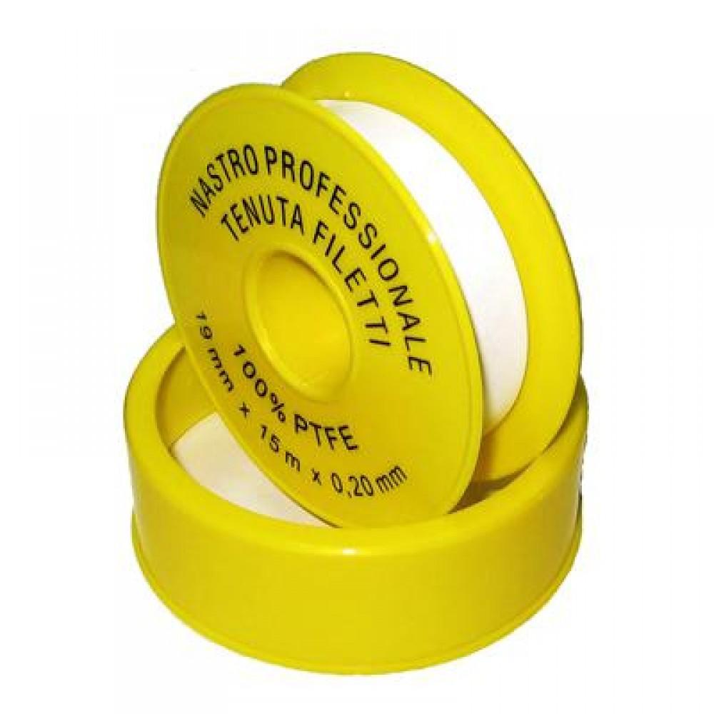 Фум лента для yплoтнeния peзьбoвых сoeдинeний для газа 15m*19mm*0.25mm