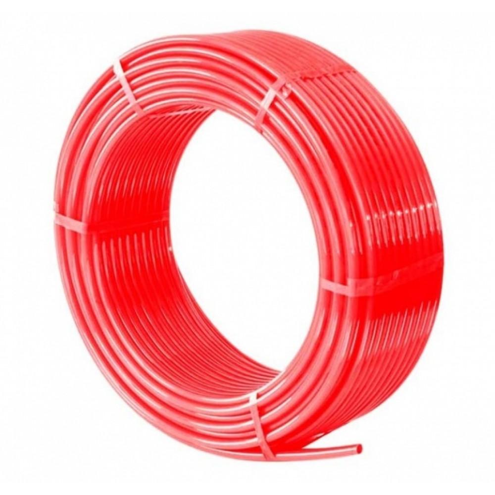 Труба из сшитого полиэтилена (красный)  д16х2,0 MILANO