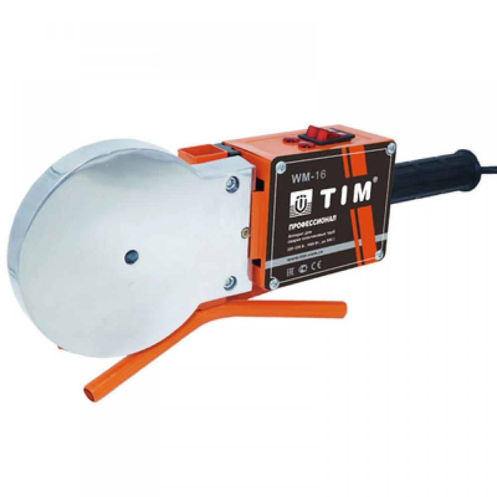 Паяльник для подготовки соединения ППР труб и фитингов мощ-ть 1800Вт, 75-110мм TIM WM-16