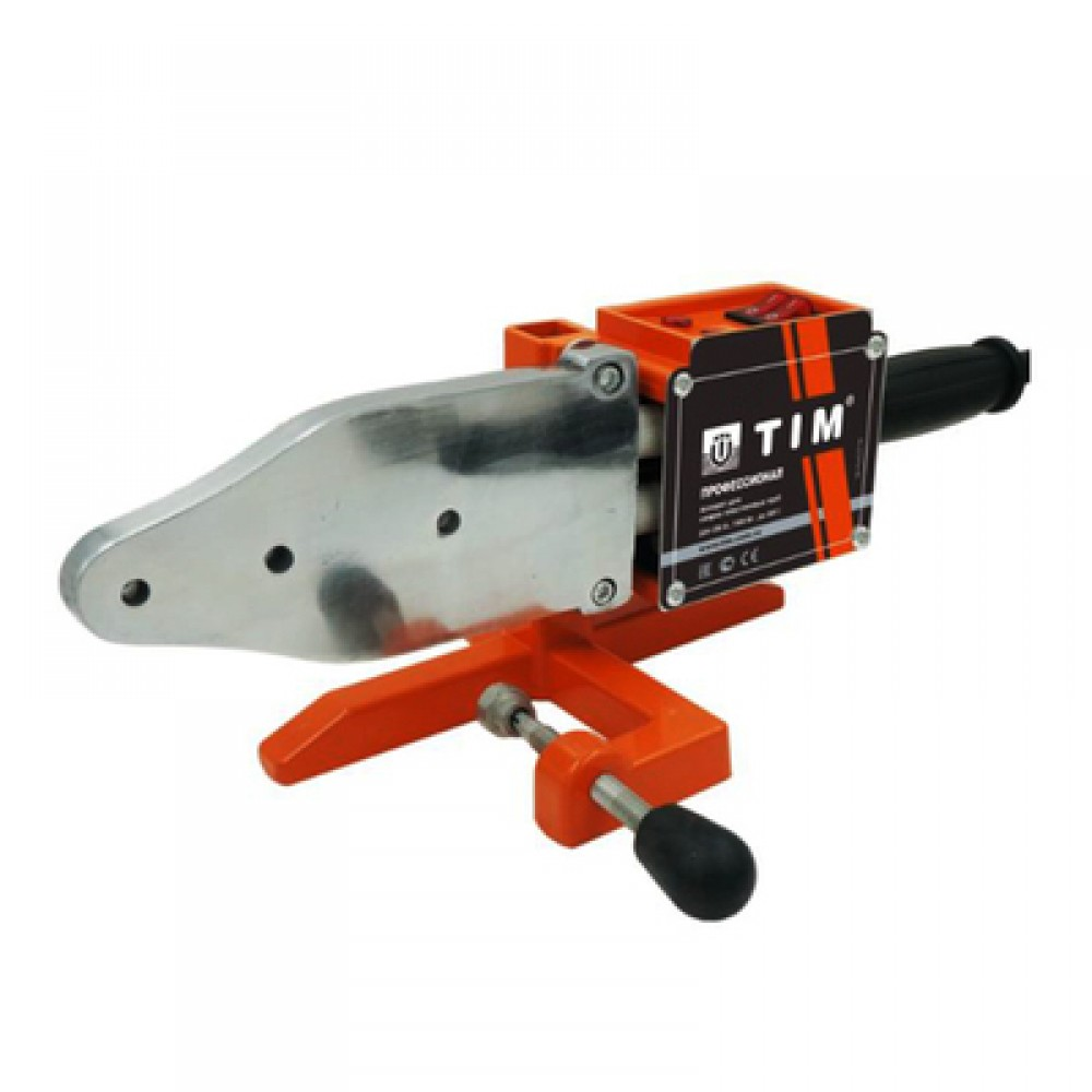 Паяльник для подготовки соединения ППР труб и фитингов мощность 2000Вт, 20-63мм TIM WM-26