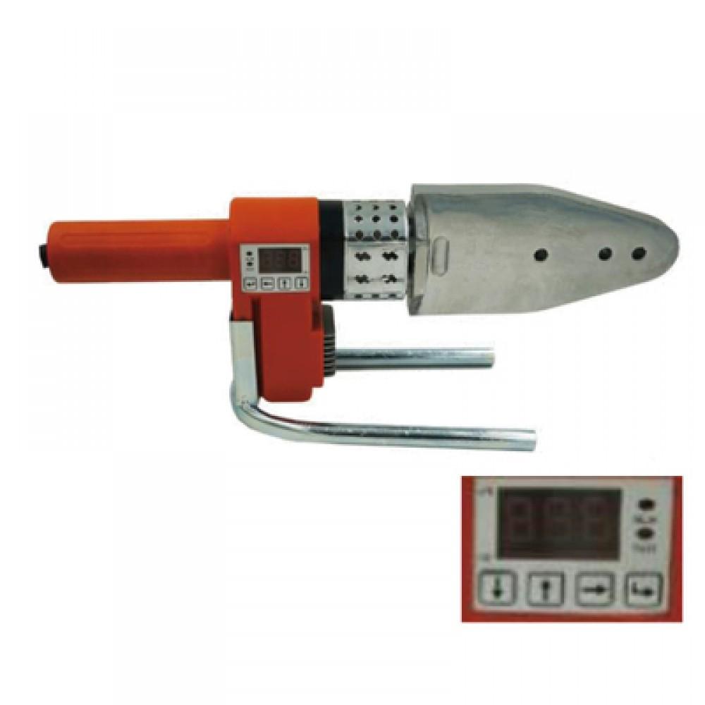 Паяльник для подготовки соединения ППР труб и фитингов мощность 1200Вт, 20-63мм TIM WM-32