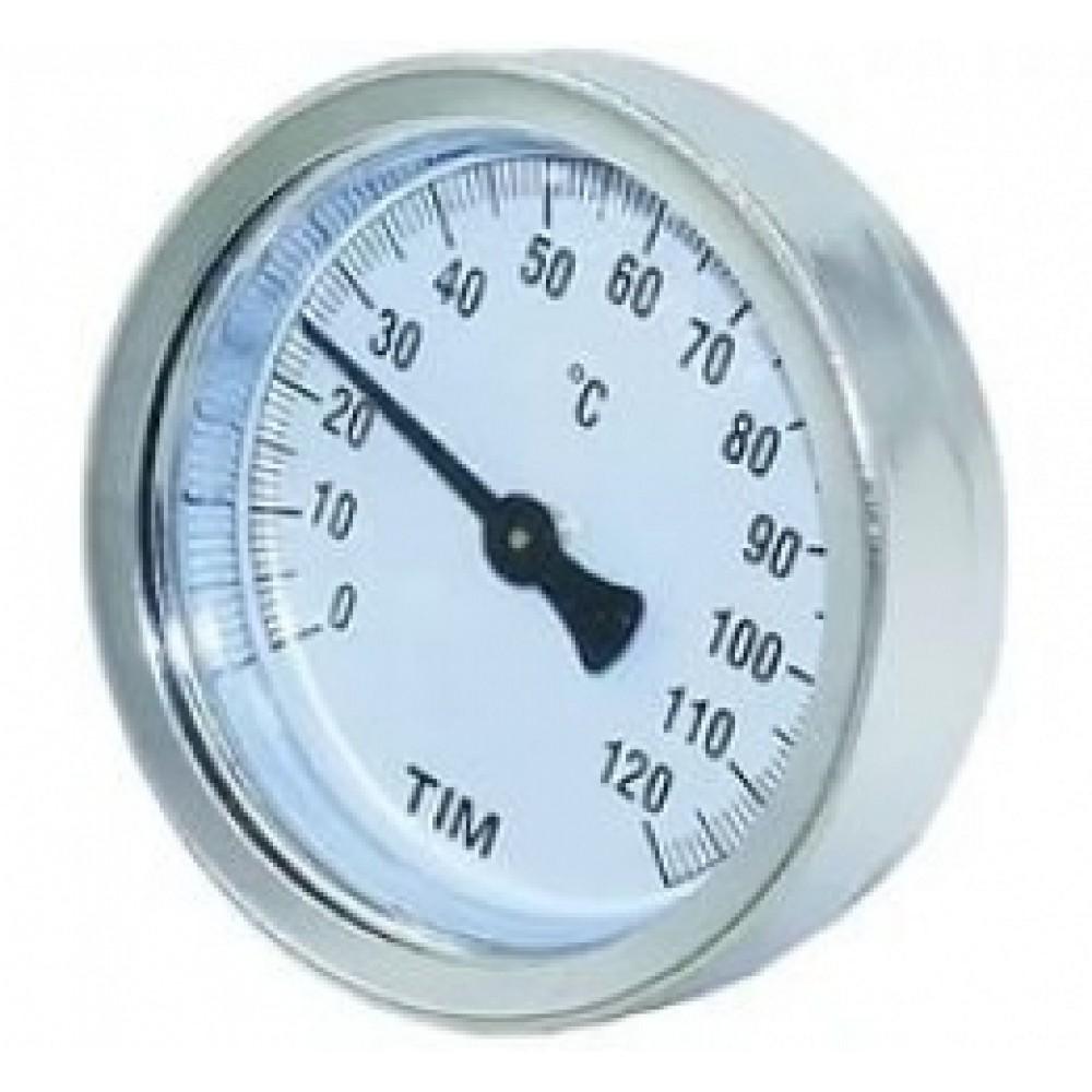Термометр с гильзой от 0℃ до 80℃ Y-63A-50-120