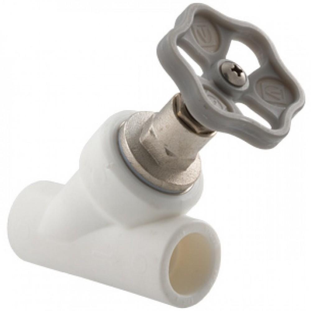 Вентиль балансировачный прямоточный ППР 32 бел косой